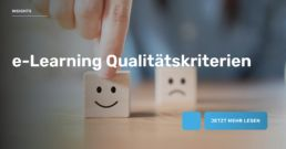 e-Learning Qualitätskriterien