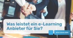 Was leistet ein e-Learning Anbieter