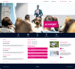 e-learning plattform