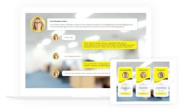 e-Learning Dialogue Simulation