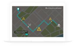 e-Learning Jobsimulation Route Lieferdienst